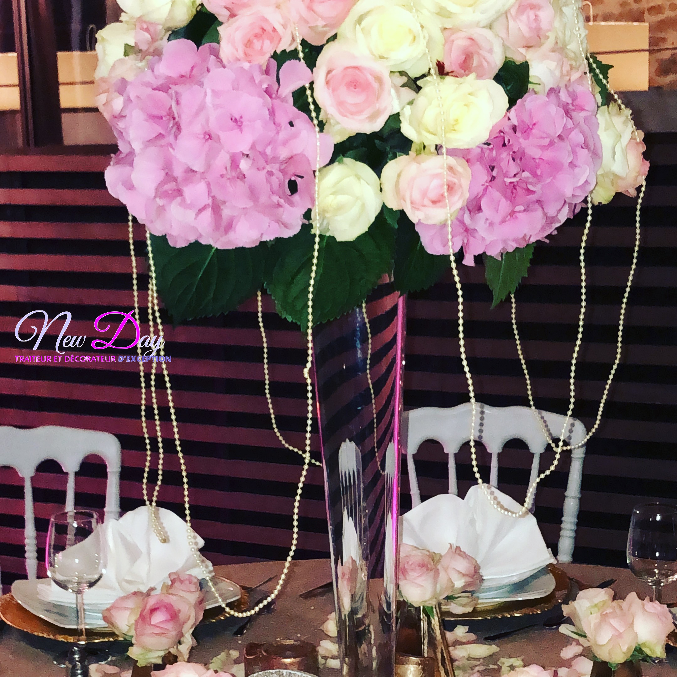 Location Décoration De Mariage Art Floral New Day Evenements