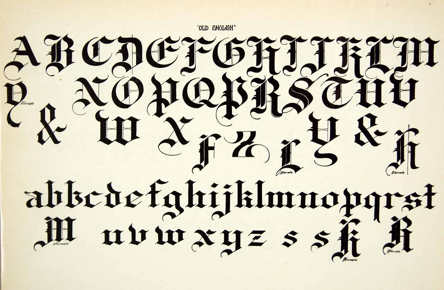 Old Calligraphy Font Free 7 Fancy Old English Fonts Images Old English Tattoo