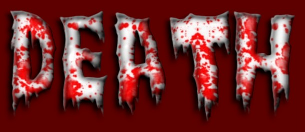 Filter Photoshop 12 Scary Bloody Word Font Images - Horror Text Generator