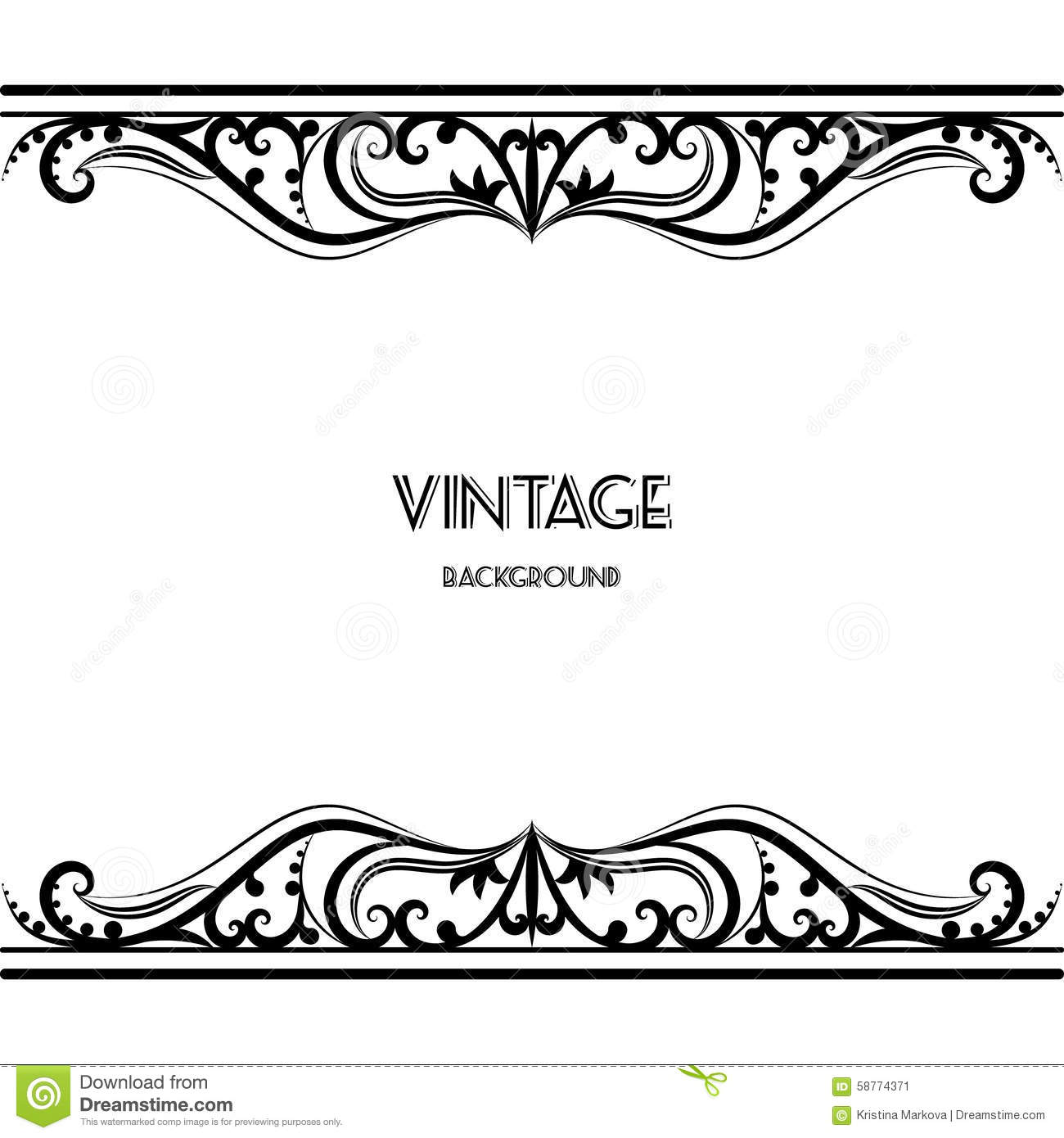 Vintage Design Vintage Border Design