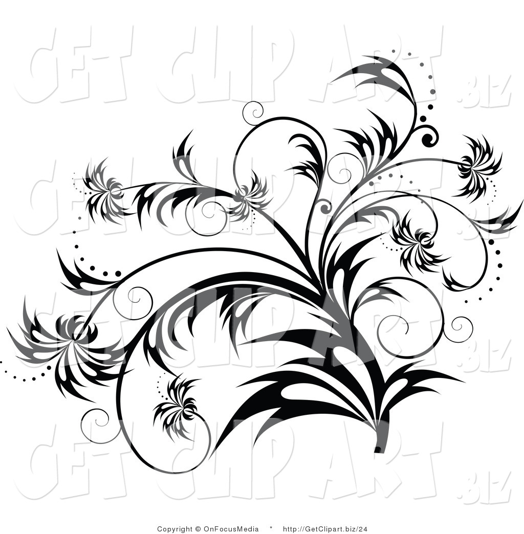 Black And White Art Ideas 16 Black And White Designs Clip Art Images Black And