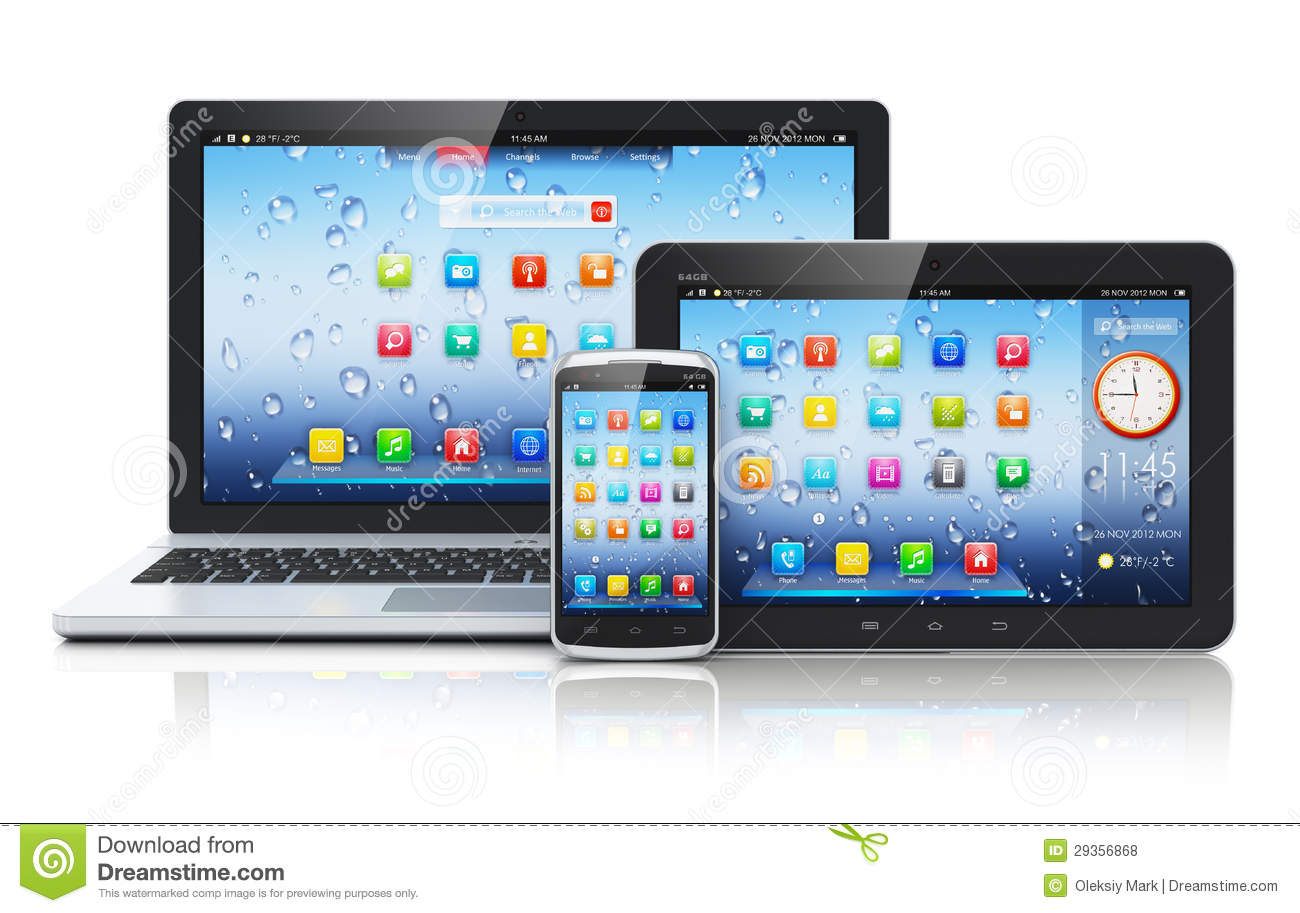 Laptop Tablett 14 Laptop Computer Tablet Phone Icon Images Computer
