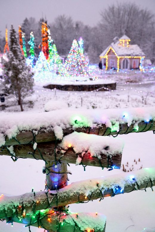 Best Places to See Christmas Lights in New England - New England Today