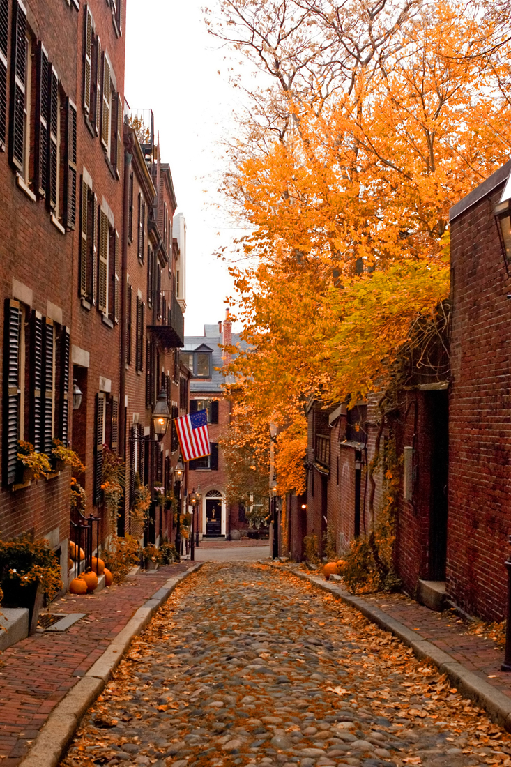 Fall Cape Cod Wallpaper Autumn On Acorn St New England Today