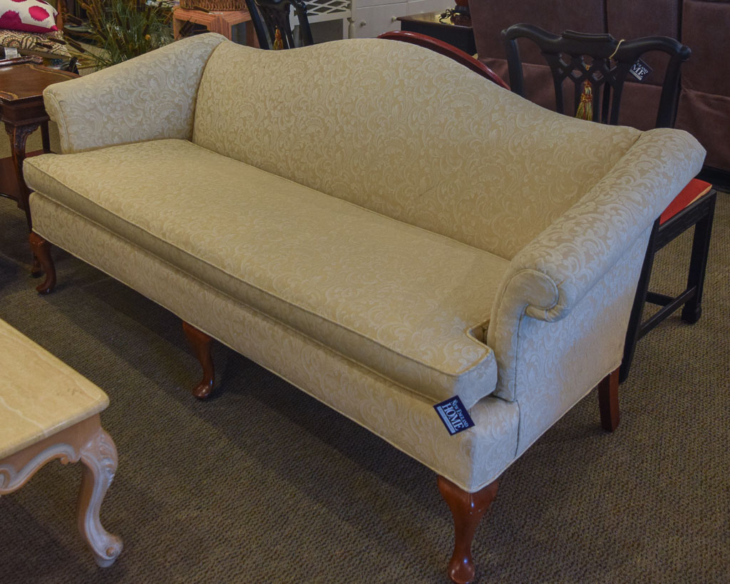 Living Room Furniture Ivory Sofa Ivory Damask Sofa New England Home Furniture Consignment