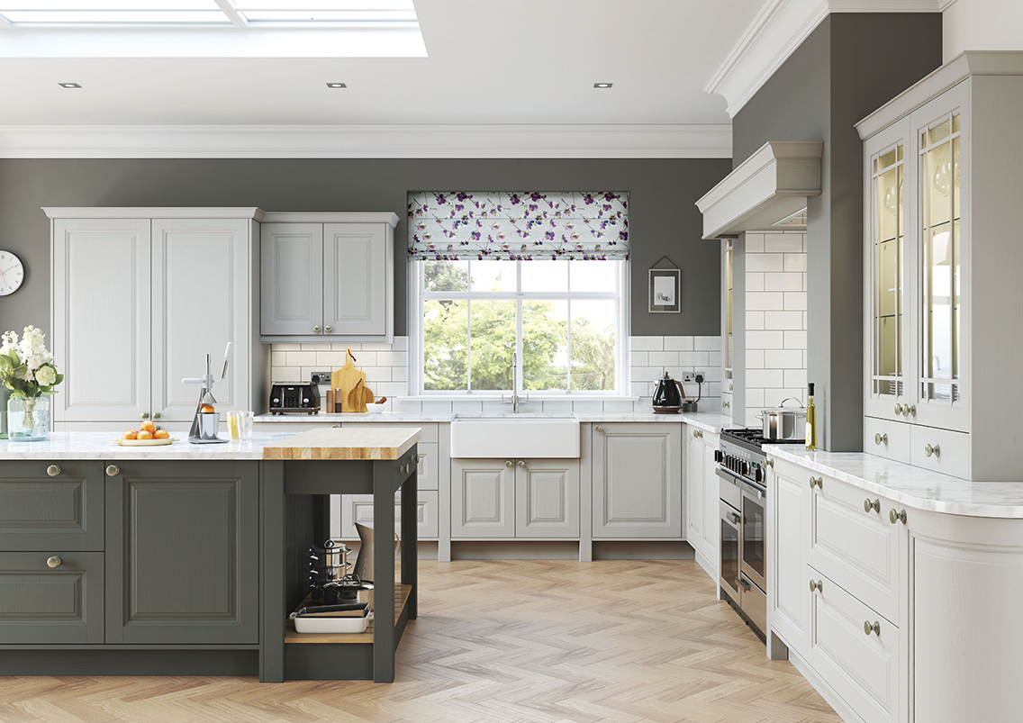 High Gloss Kitchen Cabinet Doors Uk Traditional Kitchens | New England Kitchens