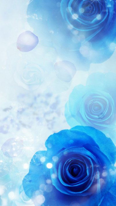 30 HD Blue iPhone Wallpapers