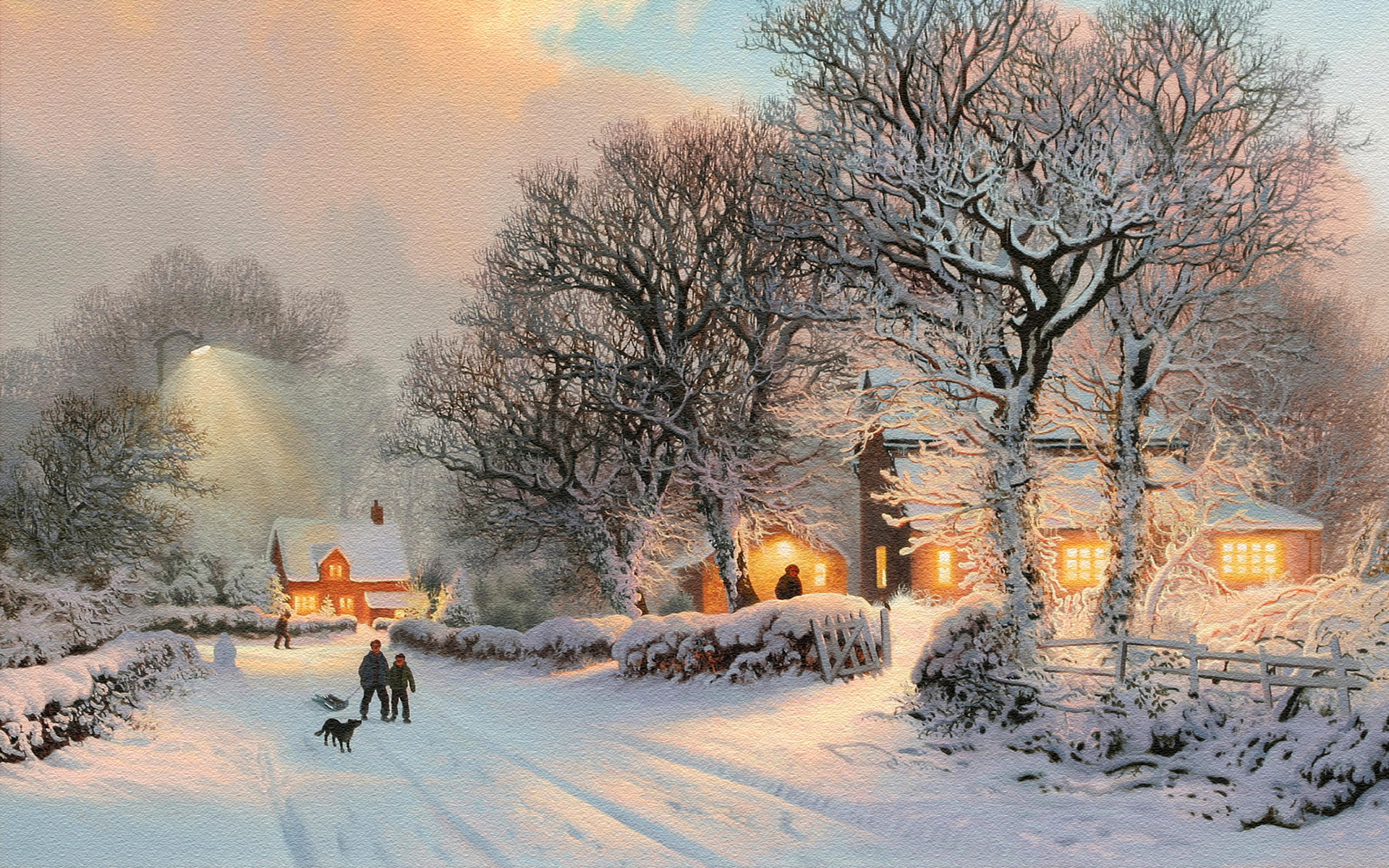 Falling Snow Wallpaper For Ipad 25 Stunning Winter Wallpapers