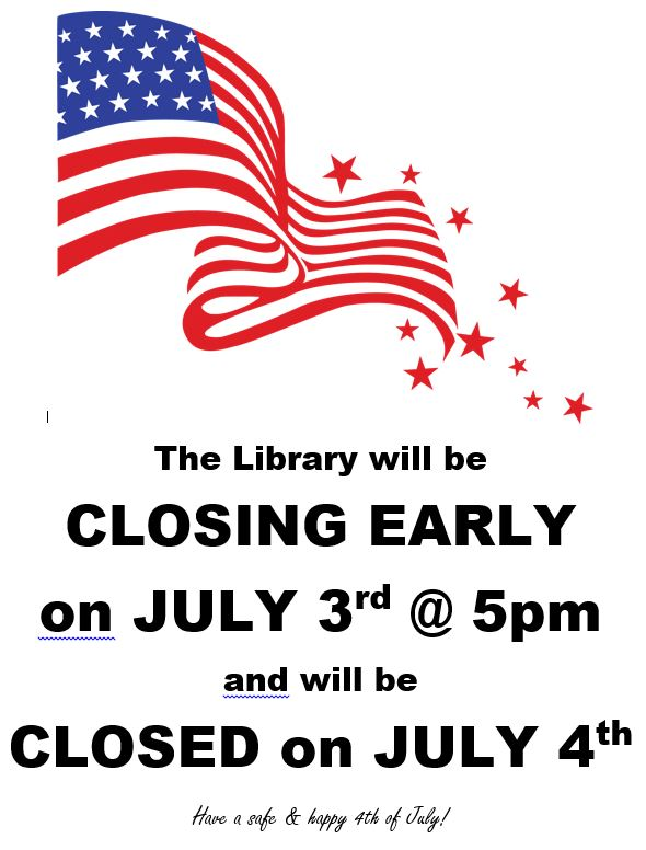 Library Holiday Hours Newfane Public Library