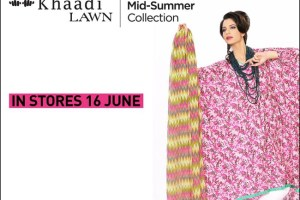 Khaadi's Mid-Summer Lawn complete Collection 2012