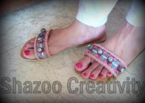 Shazoo Creativity Eid shoes 2012 for women