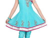 Latest Kids Anarkali Summer outfits collection 2012