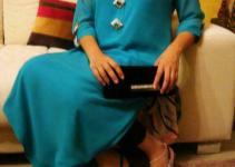 Turquoise Latest stylish Eid Dresses 2012-2013