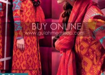 Latest Winter Dress Collection 2012-13 For Girls & Women By Gul Ahmed (3)
