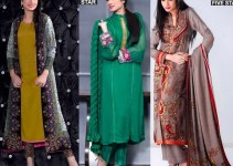 Five Star Textile Winter Dresses 2013 For Women 001