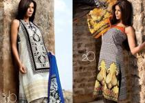 Sana Safinaz Lawn Dresses Collection 2013 001