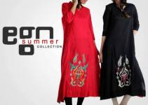 Ego Summer Fashion 2013 For Girls Long Shirts With Tights Collection