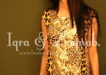 Iqra & Zaynab Girls Casual Eid Dresses Collection 2013 001