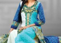 Latest Popular Cambric Dresses Collection 2013 001