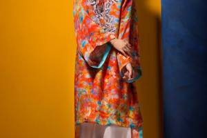 Kayseria Winter Dresses Silk Collection 2013-2014 for Women 2