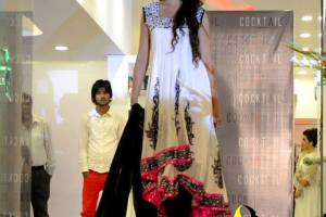 Latest Winter Dress Collection 2014 for Women by Azleena Faisal