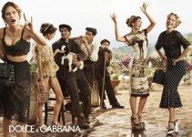 Latest Spring Summer Dress 2014-2015 Women's Campaign By Dolce & Gabbana (1)