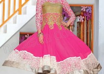 Latest & Best Designs Of Anarkali Frocks 2014 001