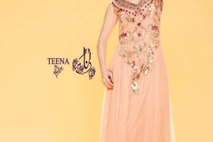 Teena by Hina Butt Summer Party Wear Collection 2014 for Women