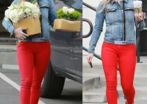 Hilary Duff buys flowers for a birthday bash