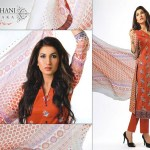 Ghani Kaka Textile New Mid Summer Dress collection 2014 9