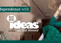 Gul Ahmed independence day dress collection 2014