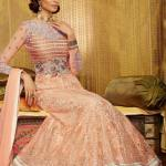 Sophisticated Floor Length Anarkali Dresses Collection 2014 7