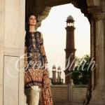 Colourful Cross Stitch Laides Function Use Summer Outfits 2014 (2)