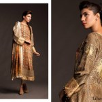 Fahad Hussayn Couture Printed Mid Summer Dresses Collection 2014 2