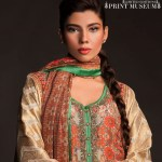 Fahad Hussayn Couture Printed Mid Summer Dresses Collection 2014