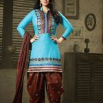 Patiala Attractive Garments Styles for Ladies Occasion (2)