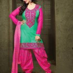 Patiala Attractive Garments Styles for Ladies Occasion (5)