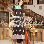 Rujhan Best Cool Summer Suits 2014 For Ladies (1)