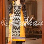 Rujhan Best Cool Summer Suits 2014 For Ladies (2)