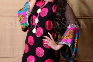 Shirin Hassan Females Special Eid Occasion Modern Outfits 2014 (4)