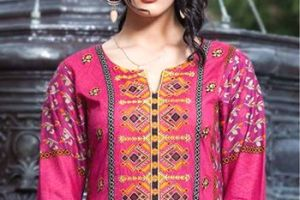 Summer Season Ending Brand New Kurti Images 2014-15  Shariq Textiles By Rabea (9)