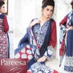 Trendy Pareesa Bakra Eid Have on Outfits 2014 by Chen One (5)