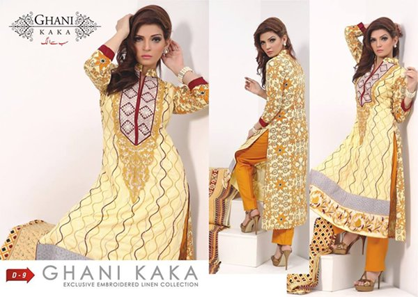Exclusive Eid Gallery 2014 For Girls By Ghani Textile (5)