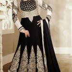 Georgette Anarkali Suits Collection 2014-15 3