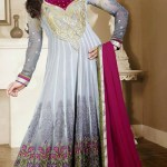 Georgette Anarkali Suits Collection 2014-15 7
