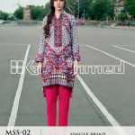Gul Ahmed Ideas Winter Dresses Collection 2014-15 3