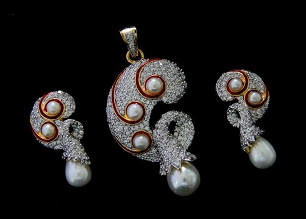 Mariam Sikander Function Jewelry Creations 2014 For Girls (1)
