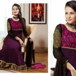Zobi Fabrics Indian Party Wear Dresses Collection 2014-15 7