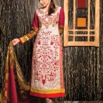 Amna ismail Semi Stitched Winter Collection 2014 12 - Copy