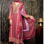 Amna ismail Semi Stitched Winter Collection 2014 2 - Copy